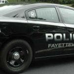 Fayetteville Police Department Car.