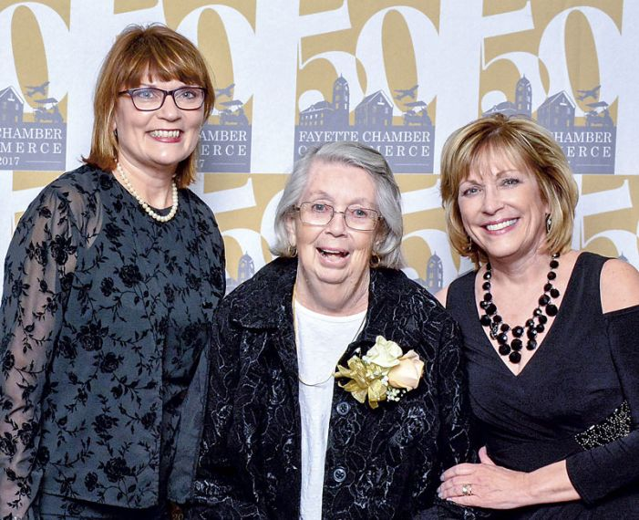 Fayette Chamber honors leaders