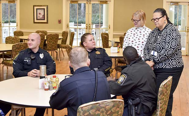Coffee with a Fayetteville cop