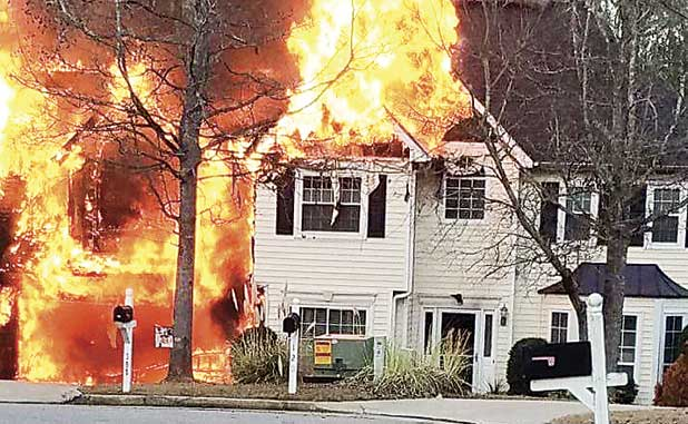 Thursday's PTC fire results in total loss