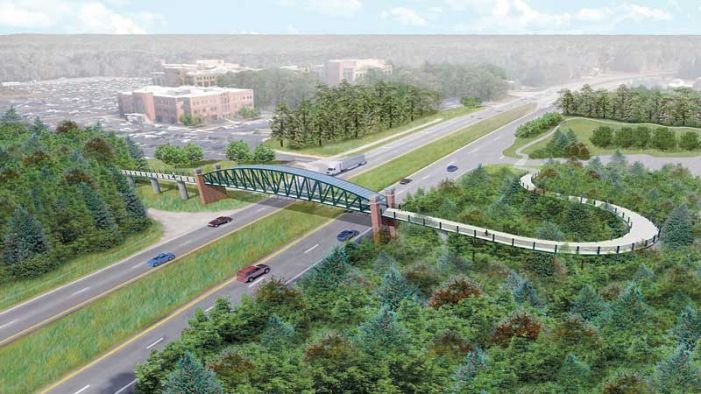 Update on the Fayetteville Pedestrian Bridge