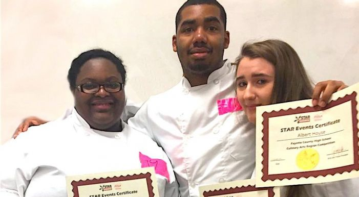 FCHS culinary students win first place at regional competition, headed to state
