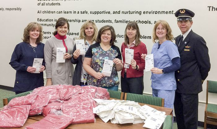 Delta blankets school clinics with warmth