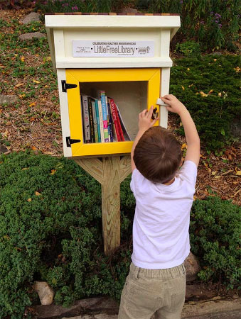 A wee, little library may soon sprout in Senoia