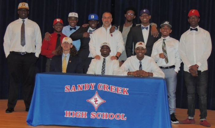 Signing Day a busy one at Sandy Creek