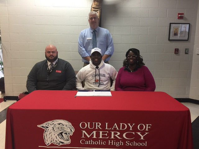 OLM player signs with Catawba