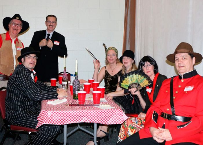 FPC mission dinner features mystery play