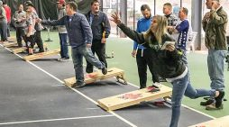Bag toss tourney brings 400+ to Peachtree City