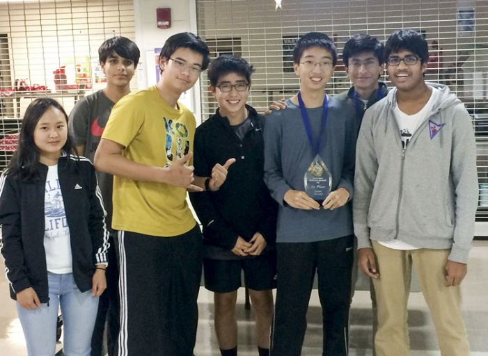 JV team takes first place at math tourney