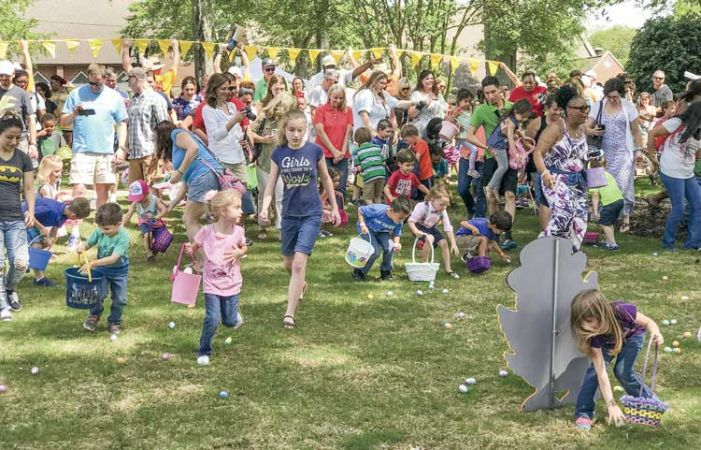 Easter egg hunts in Fayetteville and Peachtree City