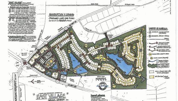 County throws East Village back to Senoia