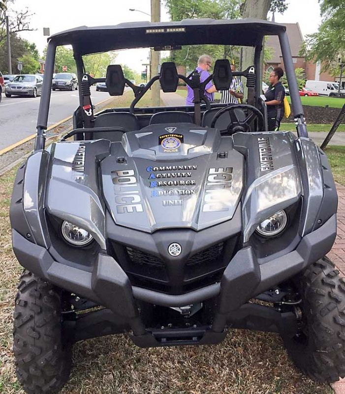 Fayetteville Police Department goes off-road with CARE unit