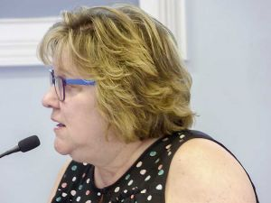 Finance Director Mary Parrott. Photo/Ben Nelms.