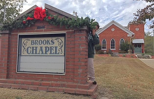 Christmas coming to Brooks