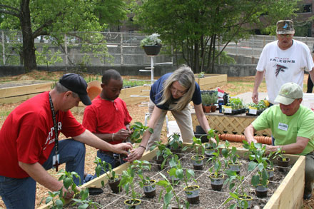 Learn about growing vegetables Mar. 19