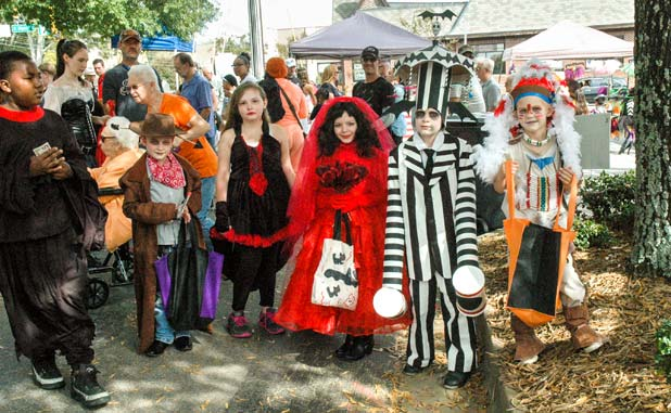 Halloween comes to Fayette