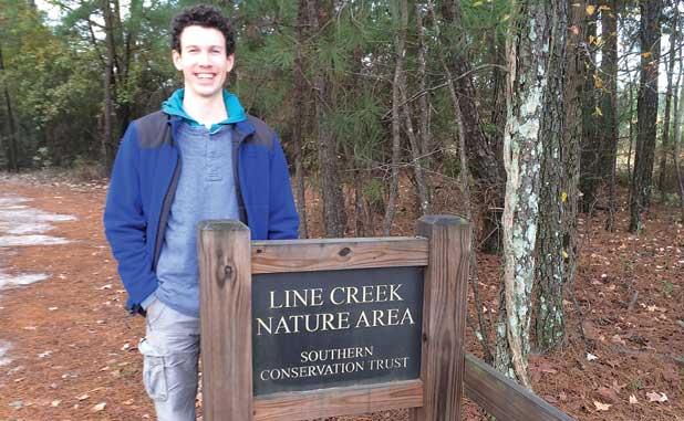 Boy Scout devotes his passion to Line Creek Nature Area