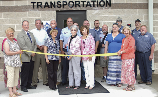 Fayette buses get new 'barn' for home