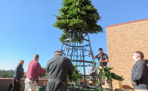 Community invited to Piedmont Fayette Hospital's tree lighting