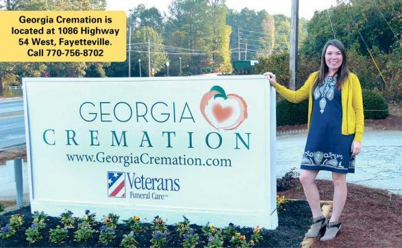 Lindsey Chau at Georgia Cremation in Fayetteville. Photo / Bonnie Helander