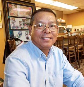 Anh Nguyen of Peachtree City, who remembers U.S. Marines as saviors of his people in South Vietnam when he was 12 years old. Photo/Submitted.